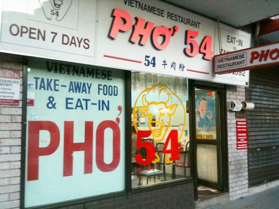 Pho 54: Front of store