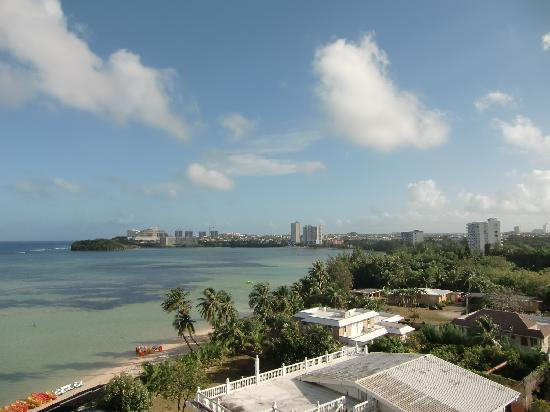 Alupang Beach Tower: View of Agana from room