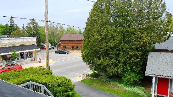 Village View Inn: View from Room 11