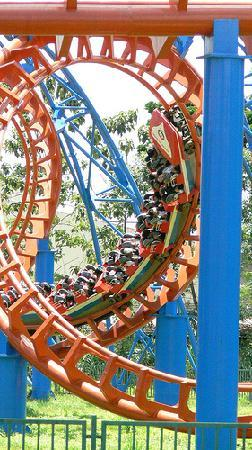 Rollercoaster - Picture of Lac Canh Dai Nam Van Hien, Ho Chi