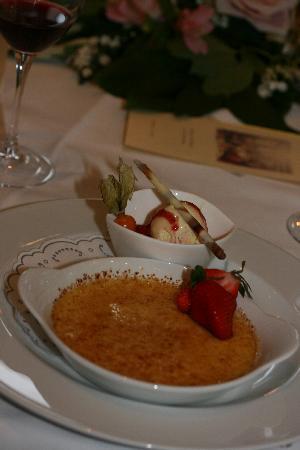 Privathotel Lindtner Hamburg: Yummy desert