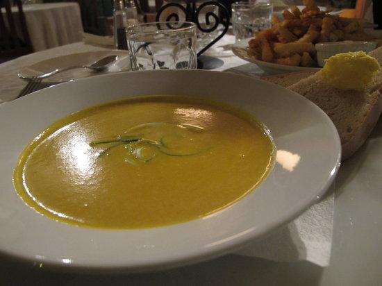 Blue Ice Cafe: Pumpkin soup