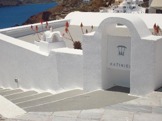 Katikies Hotel: welcome