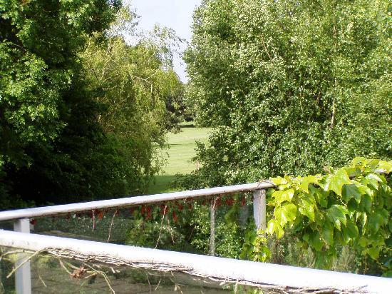 La Villa Florida : Vue terrasse vers golf