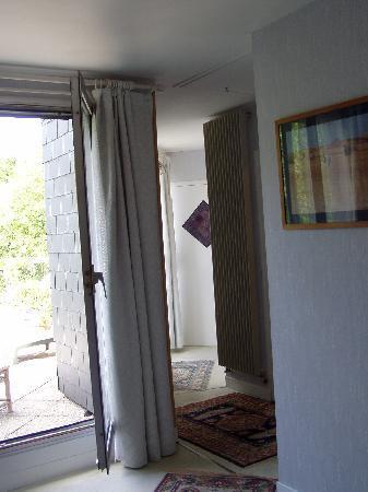 La Villa Florida : couloir intérieur chambre