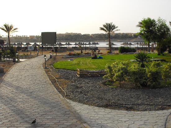 Jaz Dar El Madina: Vista spiaggia villaggio
