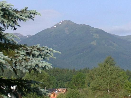 Hermagor, Austria: view from balcony