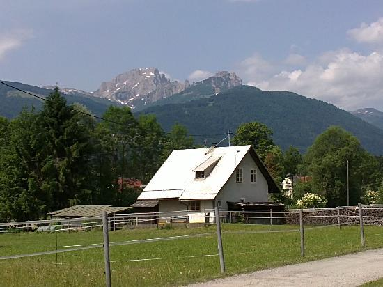 Chalet Kammleitn: view from the front of chalet