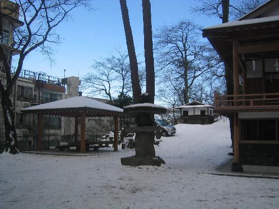 Ikaho Shrine: 境内