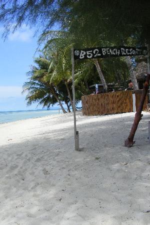 B 52 Beach Resort: B52 White Sandy beach