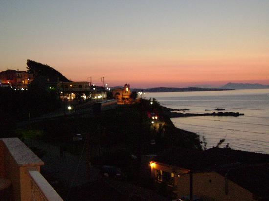 Nafsika Hotel: Sunset  from Hotel Nafsika