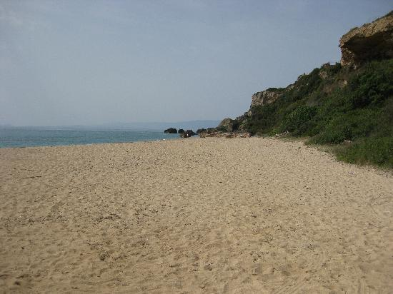 beach at skala