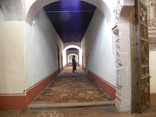 Museo de Guadalupe : Los pasillos llenos de historia interminable