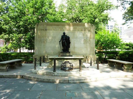 Washington Square Park: Tomb of Unknon Soldier of Rev. War