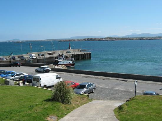 Leabgarrow, Ireland: Harbour view from some rooms