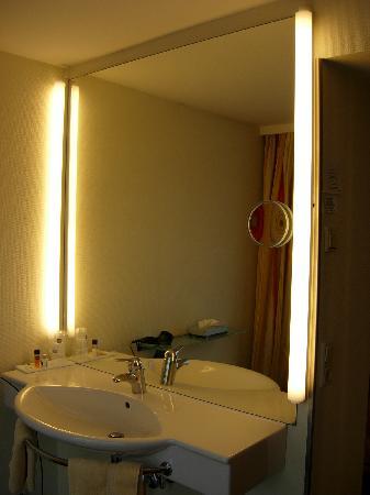 Hotel Hoher Freschen: Coin lavabo