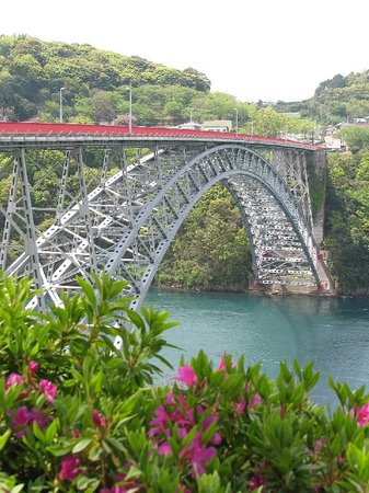 "Sasebo, Japon : Saikai Bridge, featured in ""Rodan"" (1956)"