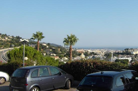 Ibis Budget Cannes Mougins: ETAP Mougins, Blick nach Cannes