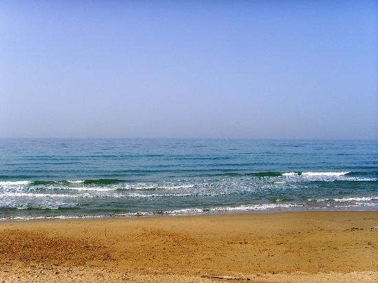 Da Vittorio Ristorante: The view of the sea from our room
