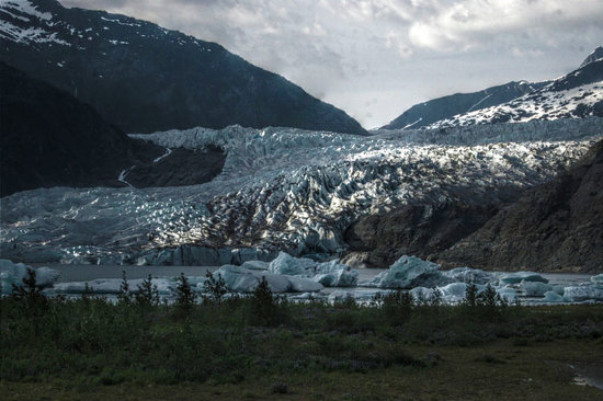 Juneau, AK: Mendenhall Glacier