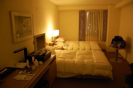 Rhino Hotel Kyoto: Our triple room