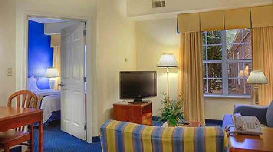 Residence Inn Charlotte South at I-77/Tyvola Road: Our one-bedroom suites feature the same convenience of home, including a desk, free wireless hig