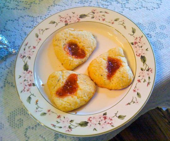 The Bed and Breakfast at Peace Hill Farm: World-class scones