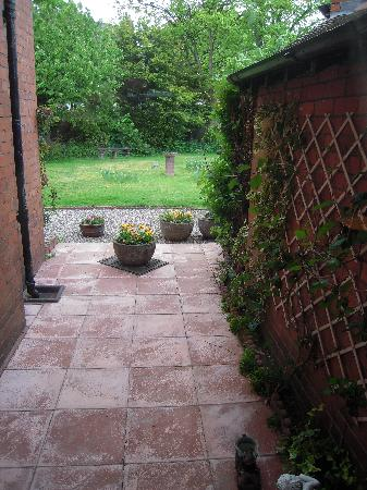 Tentry Heys: looking out into the garden