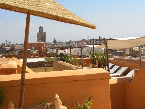 Dar Hanane: View from the roof terrace