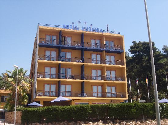 Santa Cristina Hotel: Das Hotel von Außen