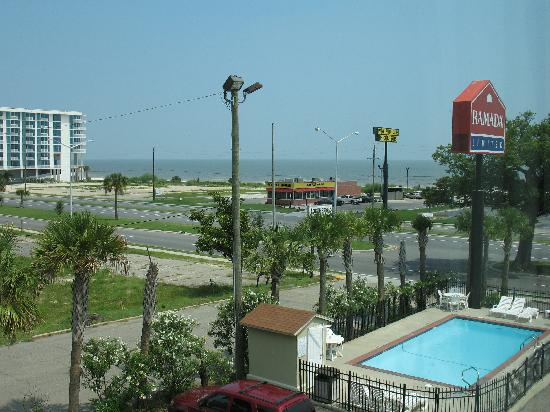 Days Inn Biloxi Beach: View from room 352