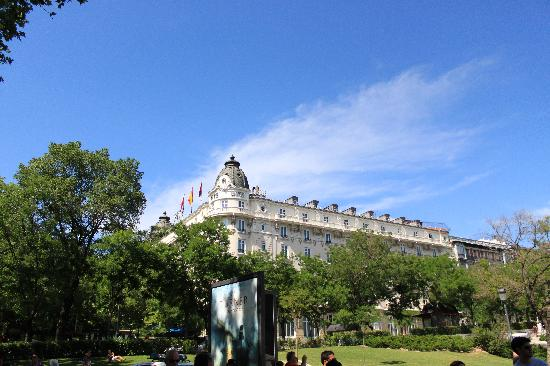 Hotel Ritz, Madrid: External picture