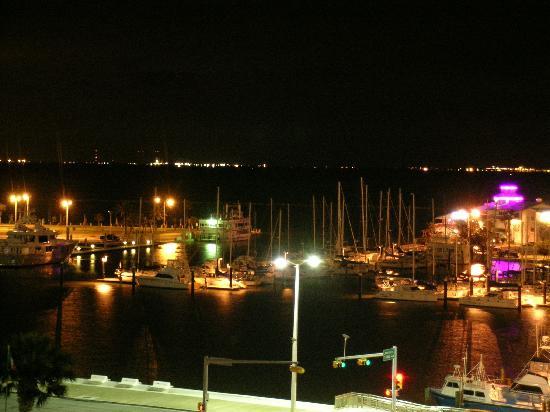 Best Western Corpus Christi: Blick vom Balkon bei Nacht