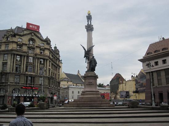 Adam Mickiewicz Monument