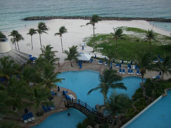 Hilton Barbados Resort : View from room