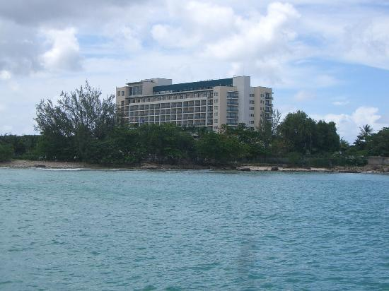 Hilton Barbados Resort : View from Ocean