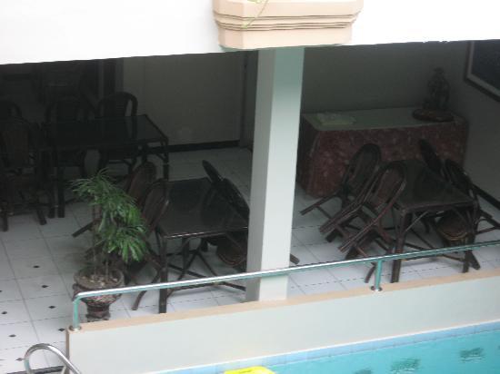 Cristalit Hotel breakfast area