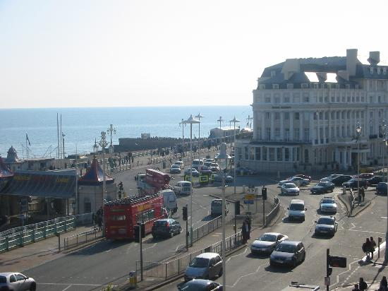 Amsterdam Hotel Brighton : View from our room