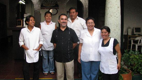 La Casa de la Tia: The friendly staff