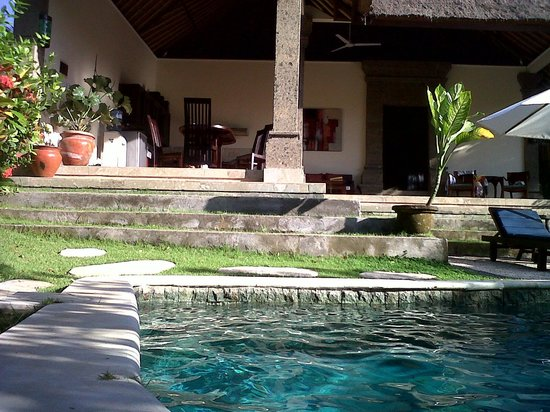 Buwit, Indonesia: our villa