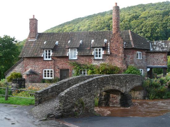 Fern Cottage B&B: Packhorse Bridge - Allerford