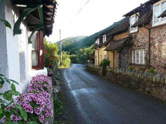 Fern Cottage B&B: View down the road  from front of Fern Cottage