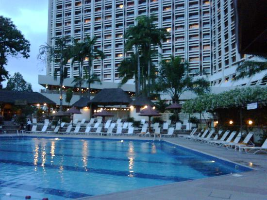 Swimming Pool Picture Of Transcorp Hilton Abuja Abuja Tripadvisor