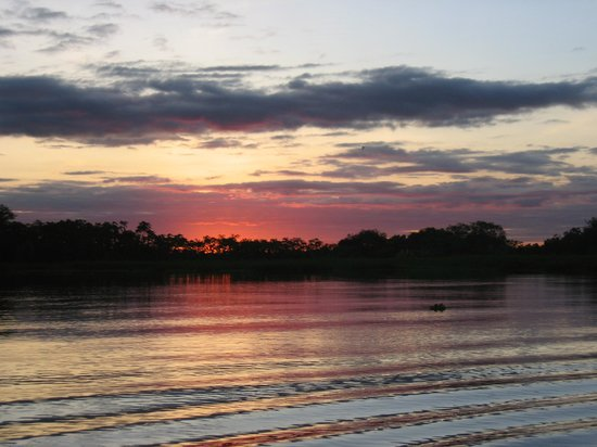 Tucan Lodge : Sunset on the Amazon