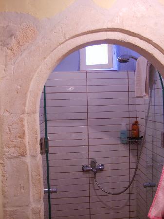Pension Eva: La deliziosa doccia nella camera