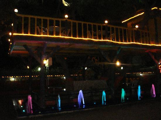 Saket Plaza: Tree House with Colour fountains