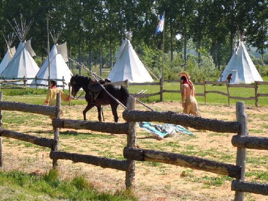 Les Tipis du Bonheur de Vivre : Spectacle Equestre