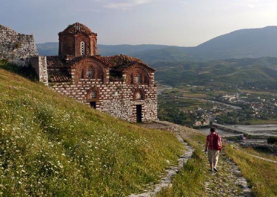 Albania: Church in the citadel at Berat
