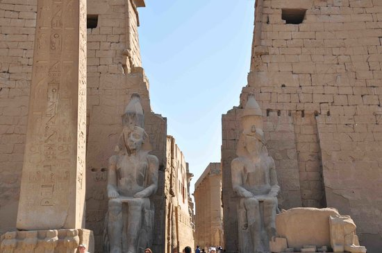 Gaddis Hotel, Suites and Apartments: Luxor temple