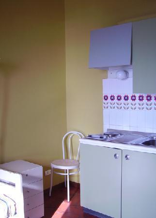 Residence Nautilus: soggiorno/cucina
